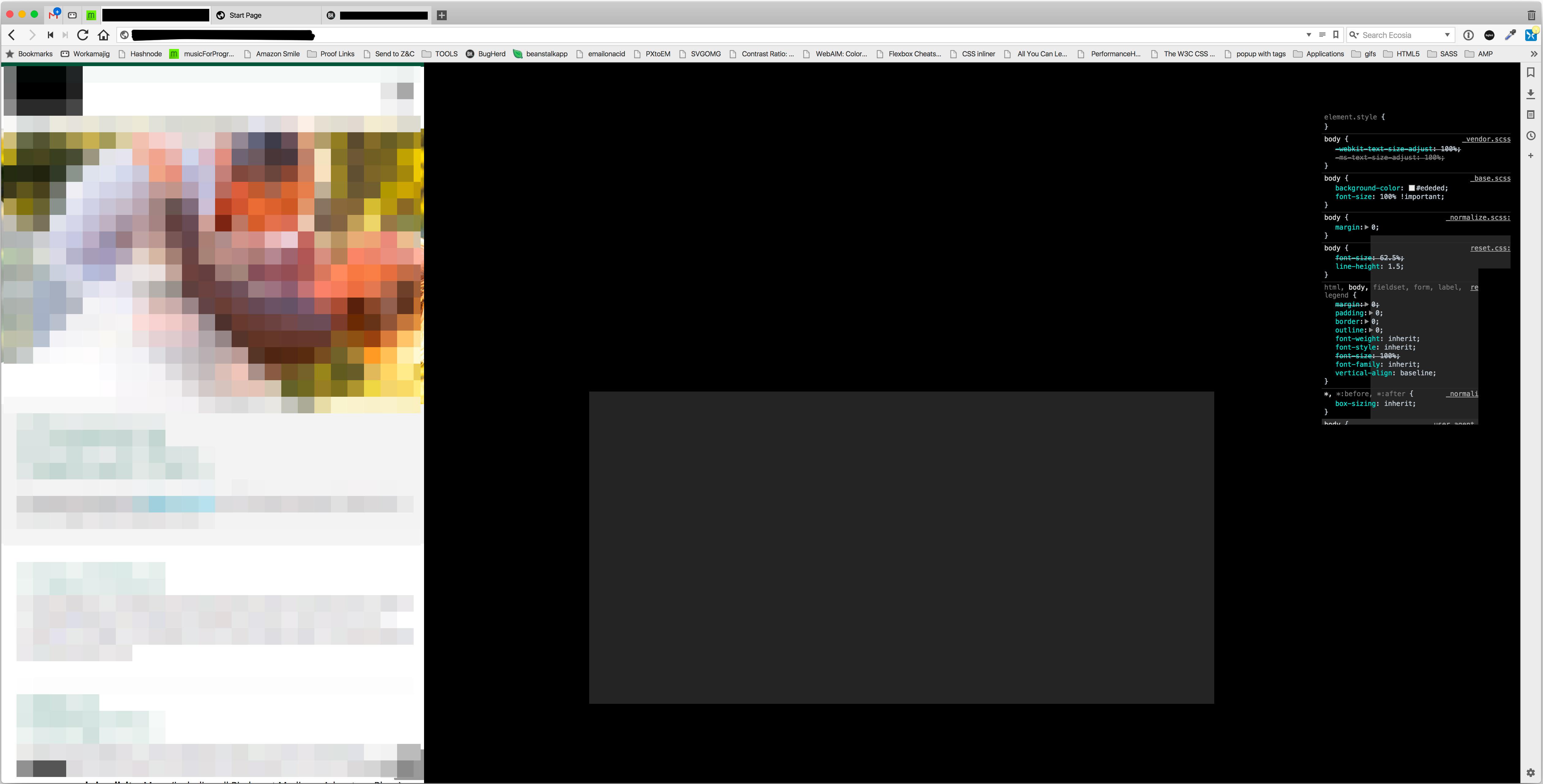 Vivaldi black screen